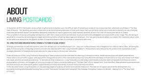 MEDIA KIT | Living Postcards - The new ...