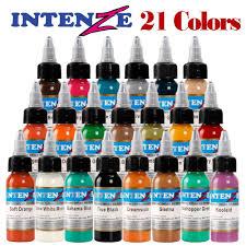 Ou Xin Li высококачественные чернила татуировки 21 цвета 30 млбутылка татуировочный