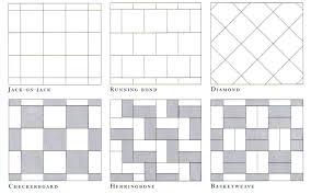 Floor Tile Layout Patterns Delectable Tile Laying Patterns Bathroom Ceramic Tile Floor Patterns Layout