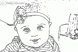 Small Picture Realistic Girl Coloring Pages Coloring Pages