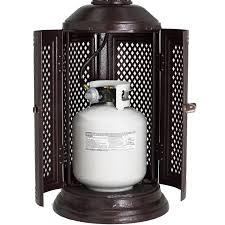 Propane patio heater Inferno Patio Comfort Vintage Series 40000 Btu Propane Gas Infrared Portable Patio Heater Antique Bronze Pc02cab Bbq Guys Bbq Guys Patio Comfort Vintage Series 40000 Btu Propane Gas Infrared