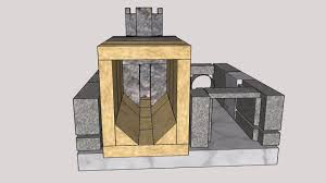 Batch Rocket Stove Design 3d Animation Of Building Up The Batch Rocket Stove