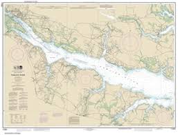 11554 Pamlico River Nautical Chart