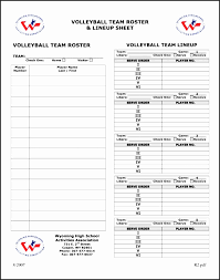 Printable Volleyball Stat Sheets Uovfo Inspirational Worksheet Team ...