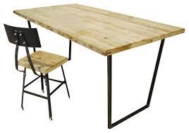 Brooklyn Rustic Reclaimed Wood Desk, Standard, 36