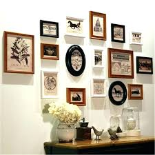 collage wall frame frames photo favors hanging wood picture for co frame on wall