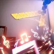 Bộ đèn thông minh Nanoleaf Aurora Rhythm - 9 miếng