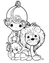 Precious Moments Animals Coloring Pages Precious