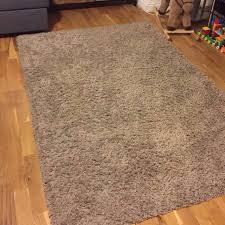 like new ikea hampen beige rug carpet high pile home furniture others on carou