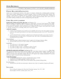 Sample Public Relations Manager Resume Cover Letter For Public
