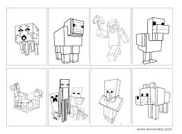 Minecraft Pictures To Print Minecraft Coloring Book Printable Coloring Pages Shoot Coloring Book