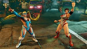 street fighter v gets some nice tag team action courtesy of mika