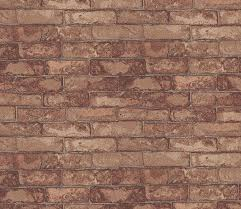 eijffinger brick wall red wallpaper