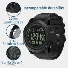 Genvivia <b>Smart Watch Men Fitness</b> Bracelet heart rate tracker ...