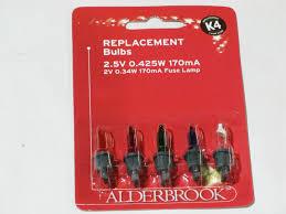Alderbrook Lights Ean 5017111038582 Alderbrook K4 Multicoloured 2 5v 170ma