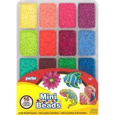 Mini Perler Bead Patterns Classy Mini Beads Large Tray Fuse Bead Store