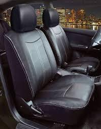 saddleman chrysler pacifica saddleman leatherette seat cover