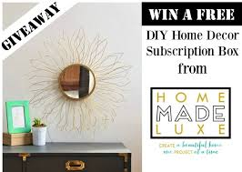 Small Picture Free DIY Home Decor Subscription Box Giveaway The Bajan Texan