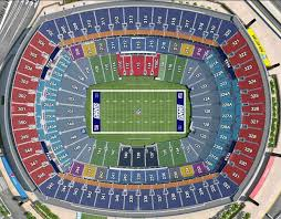 Ny Giants Seating Chart With Rows New York Giants Virtual Venue By Iomedia