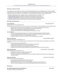 Resume Sample Administrative Assistant Free Resume Example And