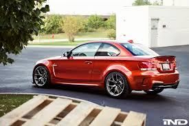 BMW 5 Series bmw m1 rear : Valencia Orange BMW 1M On BBS FI-R Wheels