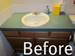 refinish laminate bathroom vanity ideas