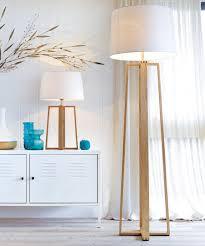 copenhagen floor lamp in teak