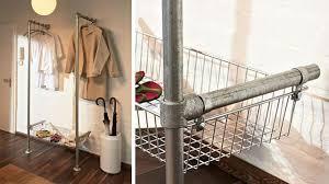 Diy Pipe Coat Rack Diy Pipe Clothes Rack Diy Clothing Rack Wardrobes Diy Pipe Clothing 49