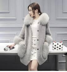 tuhao winter female faux fur coat women fur hat jacket luxury women long coat office jacket women s large size fr 1