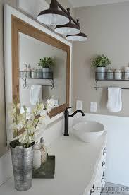 best vanity lighting. Bathroom:Farmhouse Master Bathroom Reveal Little Vintage Nest For 50 Best Photograph Rustic Vanity Lighting S