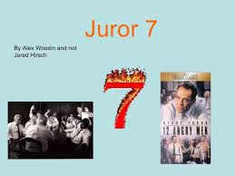 juror jpg cb  juror 7 by alex woodin and not jared hirsch