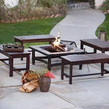 source outdoor furniture vienna. Square Black Slate Fire Pit Source Outdoor Furniture Vienna