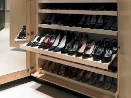 Brayer Design shoe storage contemporary-closet
