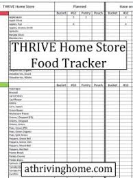 Track Your Thrive Home Store Food Storage Thrive Life Food