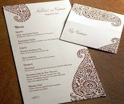 92 best {reception} menus images on pinterest letterpress Wedding Reception Menu Cards floral inspired paisley wedding reception menu and personalized place card in a rich chocolate brown wedding reception menu card template