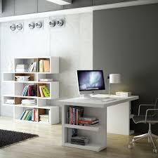 Minimalist White Desk
