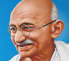 mahatma gandhi a man who gives a new perspective on life and  every person has an ideal in life who has an impact on the daily acts thinking style and decision making aspects of his life and personality