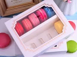 14 2 x 11 2cm macaron box with window