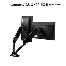 cable management system gas spring hovering system gracefully adjusts monitor height