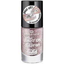 Essence Glitter On Glitter Off Peel Off Nail Polish Slupovací Lak Na
