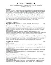 Administrative Assistant Resume Objective Sample sample administrative assistant resume objective 15