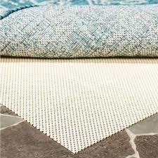 safavieh outdoor creme 10 ft x 14 ft non slip rug pad