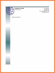 Sample Letter Head 7 Free Letterhead Samples Microsoft Word Andrew Gunsberg