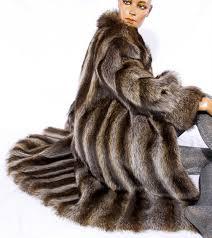 wonderful rieger münchen fur coat made of real rac fur coat rac real fur