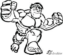 Incredible Hulk Coloring Page Sheet Printable Pages Iron Man Free