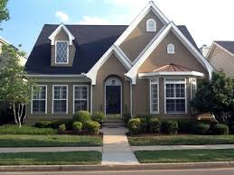 house paint ideas exteriorModern Exterior House Design In White Also Grey Paint Color For