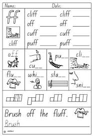Phonics teaches a student to read by using the sounds of the letters in a word. Activity Sheet Double Consonant Ff Studyladder Interactive Learning Games