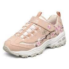 Giày thể thao thời trang SKECHERS - D'LITES dành cho bé gái 302507L - Giày  thể thao bé gái Thương hiệu Skechers