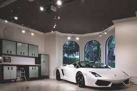 garage track lighting. modren track track lighting in luxury garage in garage lighting e