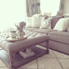 Beautiful Awesome Oversized Ottoman Coffee Table 1000 Ideas About Ottoman Coffee  Tables On Pinterest Tufted Home Design Ideas